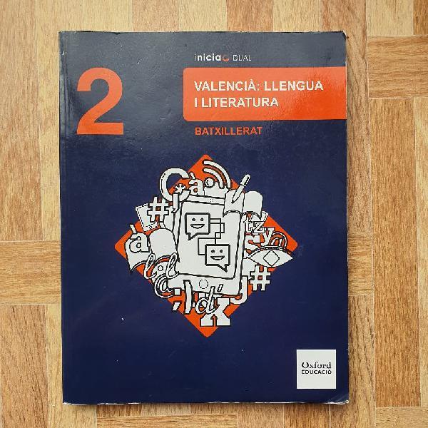 Valencià: llengua i literatura 2bach