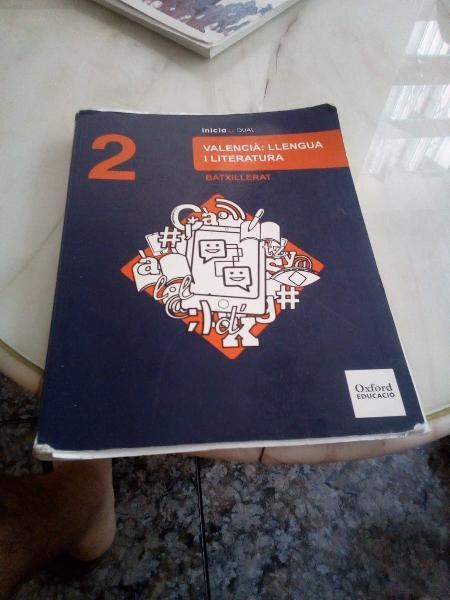 Valencià: llengua i literatura.