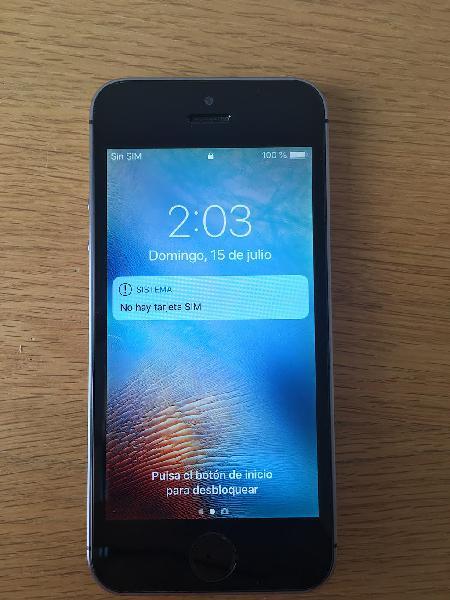 Iphone 5s de 16gb con garantía (no soy tienda)