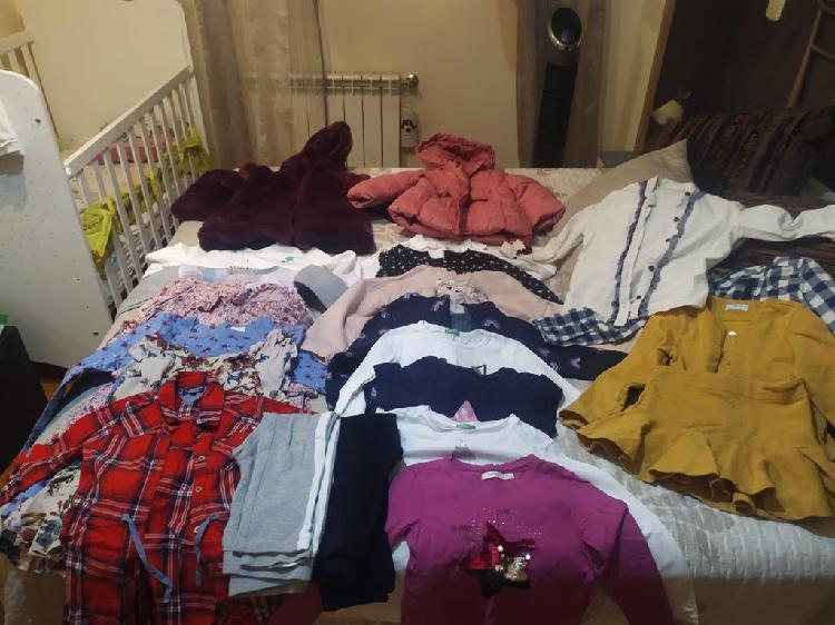 Lote ropa invierno niña 4años