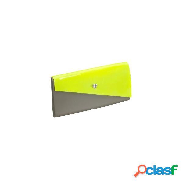 Melissa chromatic bolsos de mujer verde y amarillo - talla u