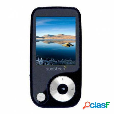 Reproductor mp4 sunstech thorn 4gb black - pantalla 4.57cm - fm 20 pre