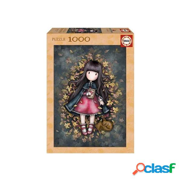Gorjuss puzzle 1000 autumn leaves
