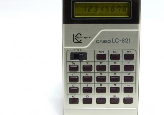 Calculadora casio lc-821 vintage