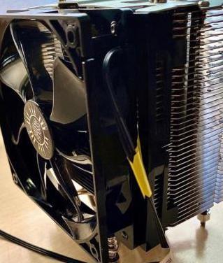 Disipador cpu cooler master hyper 412s negro