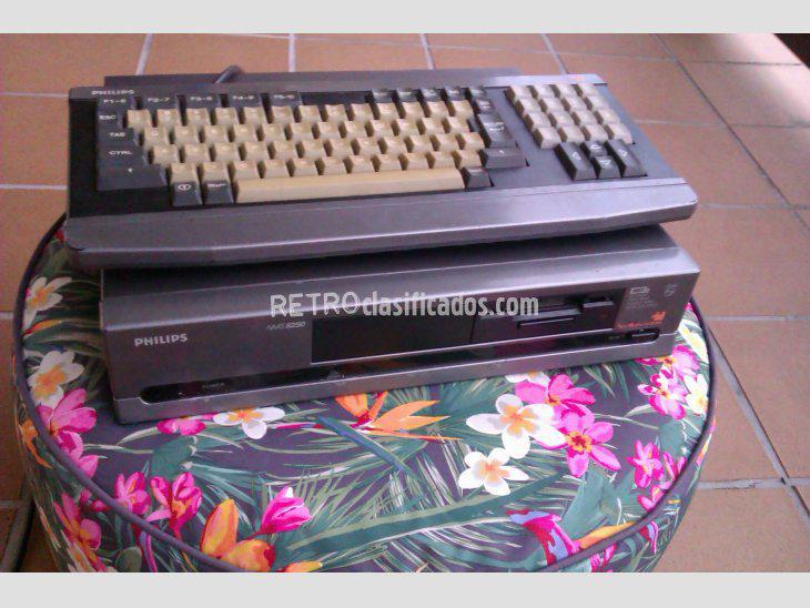 Se vende vendo msx2 philips nms8250