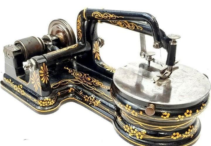 Antigua maquina de coser florence antique & rare sewing
