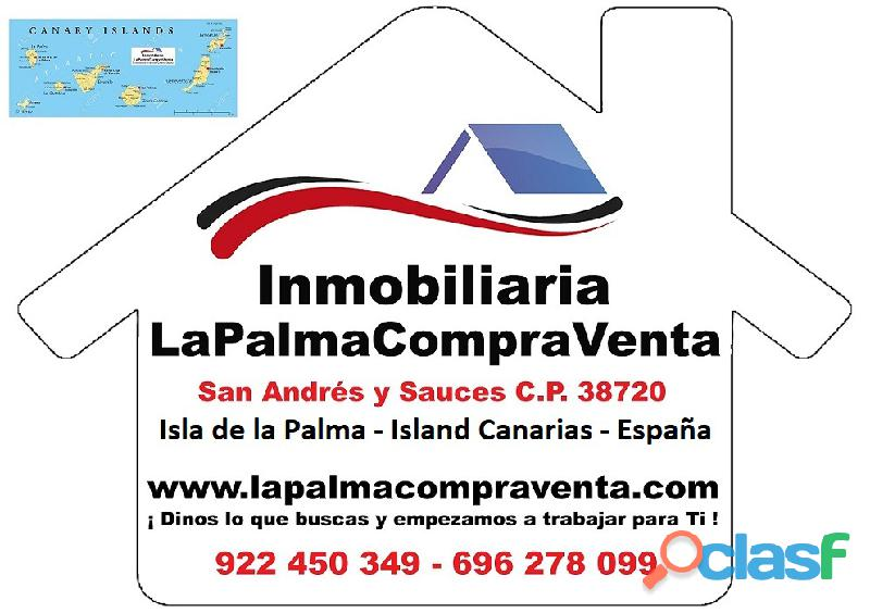 ID 420 Una buena extensión de terreno en Puntagorda en una zona tranquila y soleada, con vistas de 8