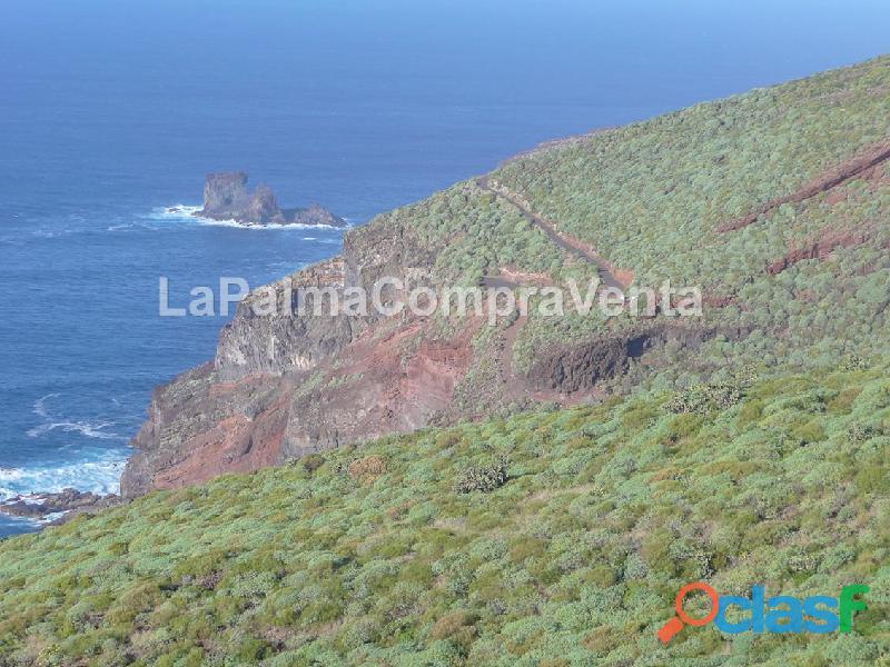 ID 424 Gran terreno en la zona noroeste de la isla de la Palma, en Lomada Grande Garafia, con una m