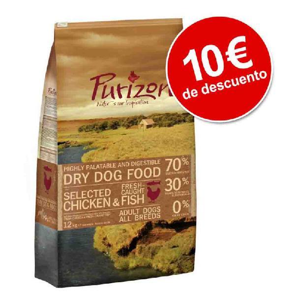 Purizon 12 kg pienso para perros ¡con 10€ de descuento!