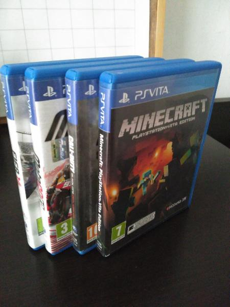 4 juegos ps vita minecraft call of duty