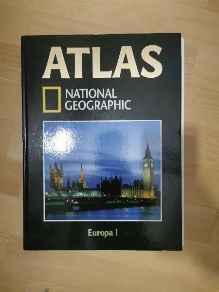 Atlas national geographic + atlas visual animal.