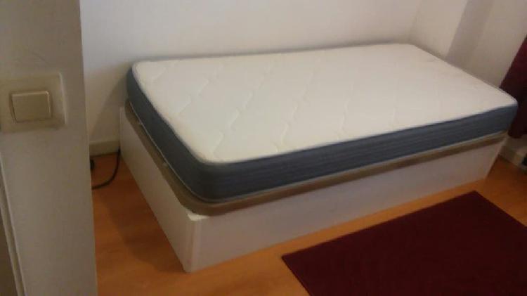 Canape + colchon, regalo un mueble con cajonera