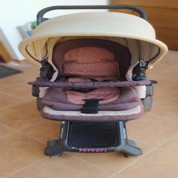 Carrito de bebe jane rider. 3 piezas
