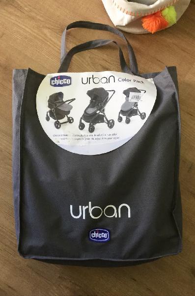 Chicco urban color pack antracita