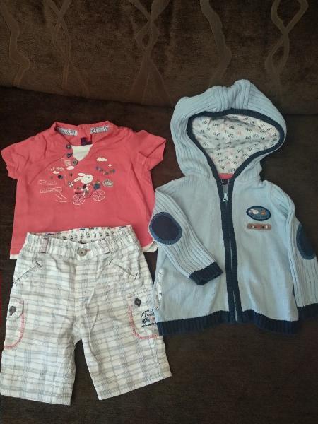 Conjunto ropa niño sergent major 3/6 meses