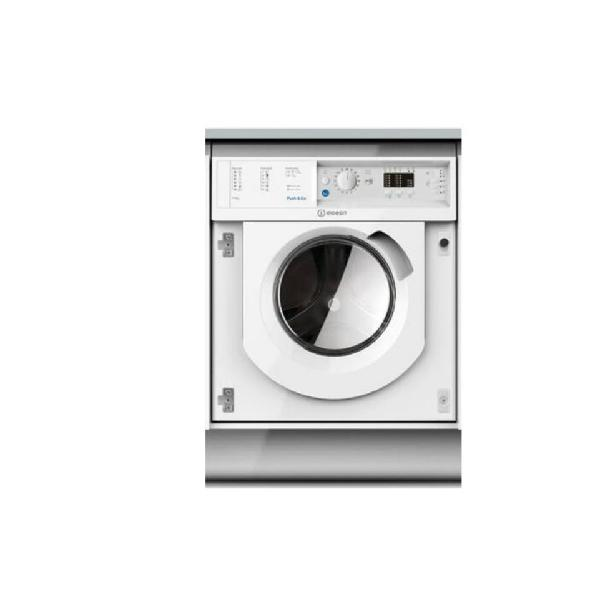 Lavadora secadora de integración indesit biwdil751