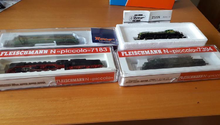 Lote máquinas tren escala n