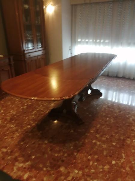 Mesa comedor de madera extensible a 3 metros