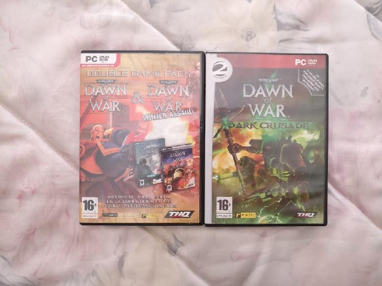 Pack videojuegos warhammer 40000 dawn of war pc