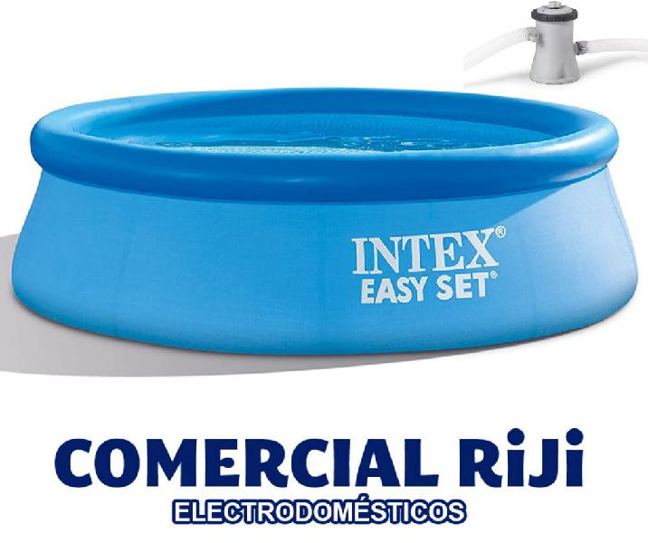 Piscina intex + depuradora 244 cm