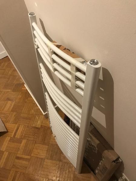 Radiador toallero curvo 45x110cm nuevo
