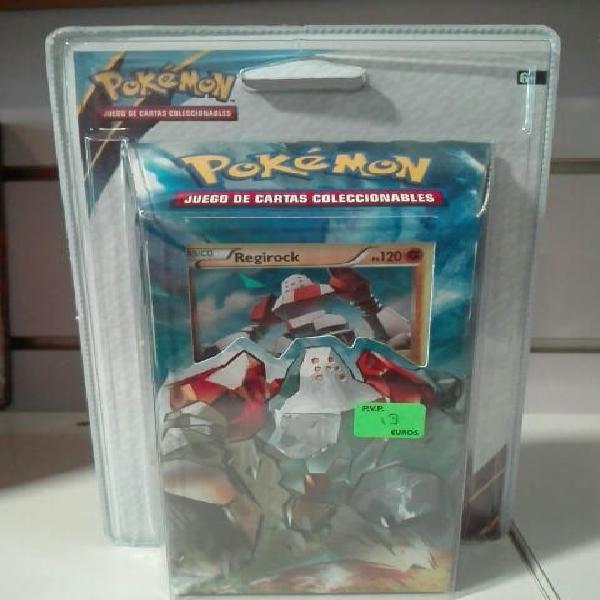 Regirock baraja pokemon antiguos orígenes