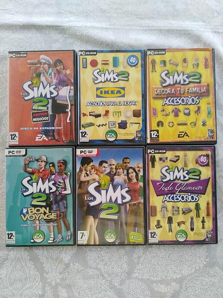 Sims 2 pc pack