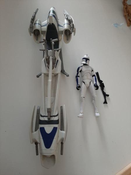 Star wars clone trooper 501st barc speeder