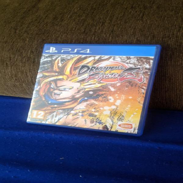 Videojuego dragon ball fighter z playstation 4 ps4