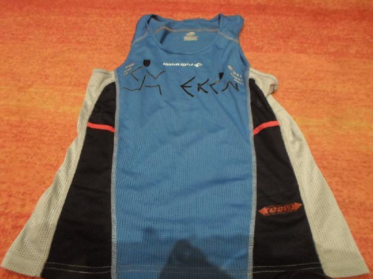 Camiseta tecnica raidlight ultra trail running