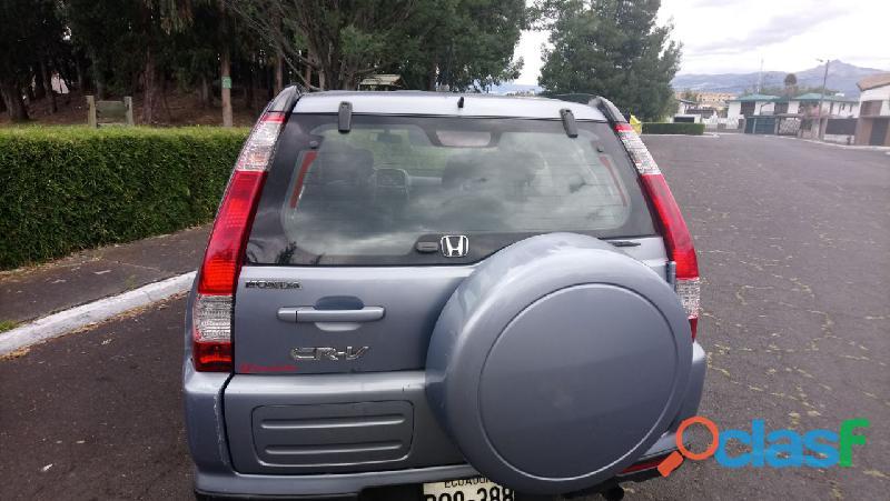 EN VENTA AUTO HONDA CRV 2006 4X4 DE CASA COMO NUEVO 5