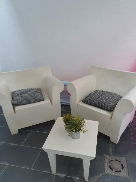 Muebles blancos policarbonato