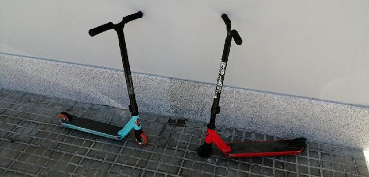 Patinetes scooter de skatepark
