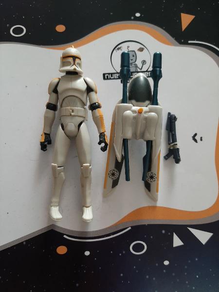 Stra wars clone trooper 212th jet