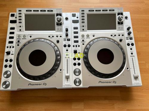 2x pioneer cdj 2000 nexus 2 nxs2 edición limitada blanc