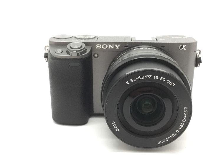6 % camara digital evil sony alpha a6000 (ilce-6000)+16-50mm