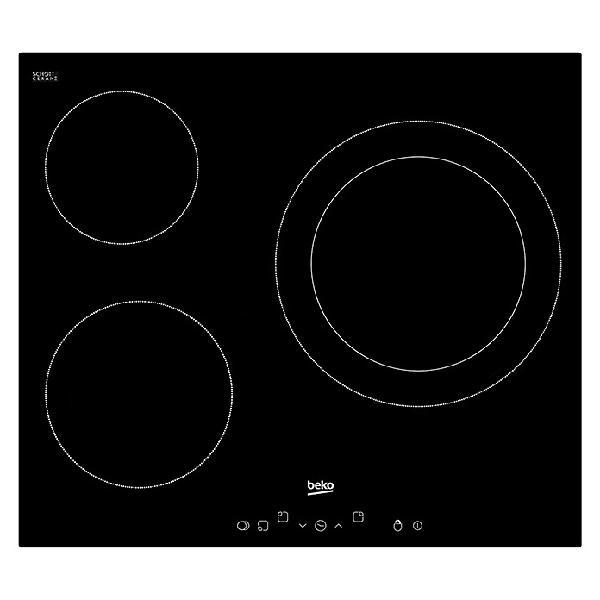 Beko placa de cocción vitrocerámica hic 63401 t