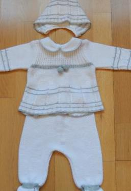 Conjunto bebé recién nacido 0-3 mes