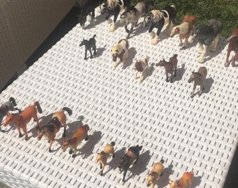 Figuras de caballos schleich