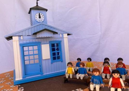Iglesia de playmobil 6279 con niños