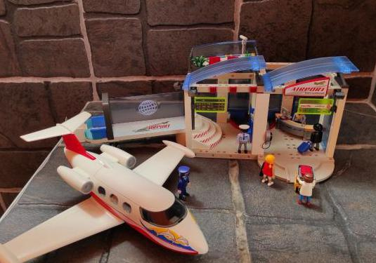 Juguetes playmobil aeropuerto