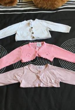 Lote 3 chaquetas niña bebé 6 meses