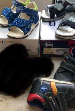 Lote de zapatos infantil, sin estrenar