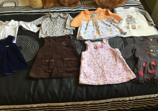 Lote ropa niña invierno 9 12 meses