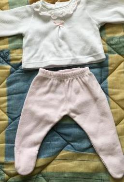 Lote ropa niña recien nacida un mes