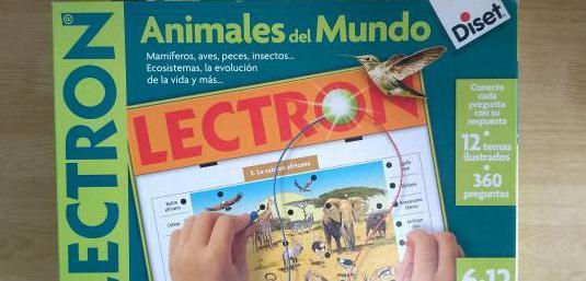 Lectron animales del mundo juguete educativo