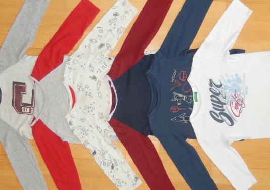 Lote camisetas niño 18- 24 meses