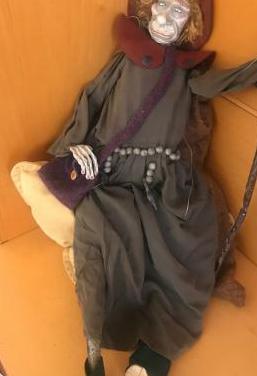 Marioneta Peregrino Santiago