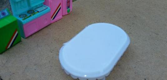 Mobiliario casa juguete varias piezas